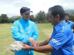 Mr. Sunil Mujumdar with Garry Kristen in South Africa