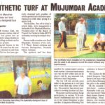 Mujumdar Academy news in hitwada14-04-2008 - inauguration of Synthetic turf